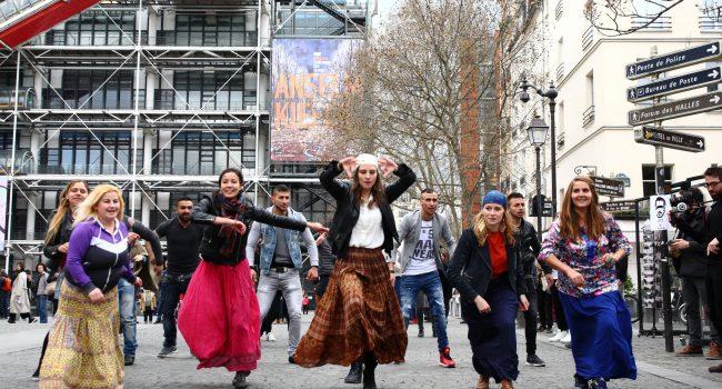 Flashmob -Romcivic - Les Enfants du Canal