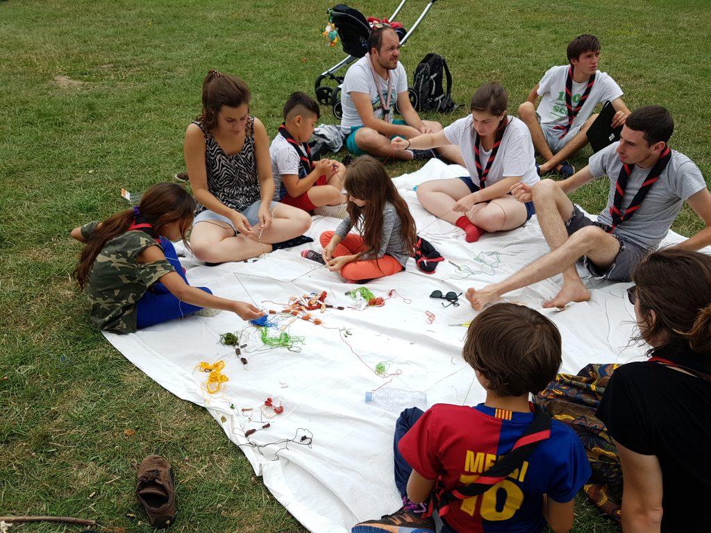 Camp scout Les Enfants du Canal